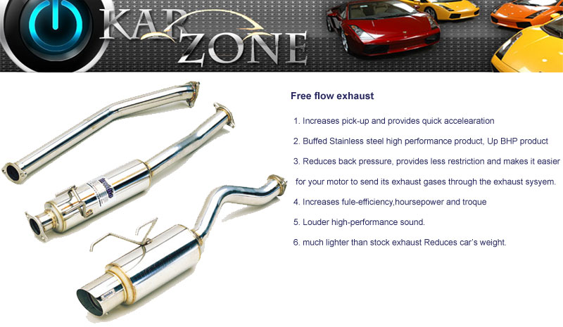 Free Flow Exhaust >> Car Performance Products Car Modification Product Car
